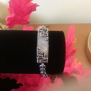 Lois Hill mother of pearl bracelet